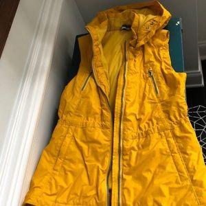 Athleta yellow vest